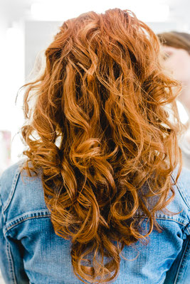 rotes Haar, Portraitshooting, Wiehl, Makeup