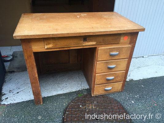 relooking bureau vintage
