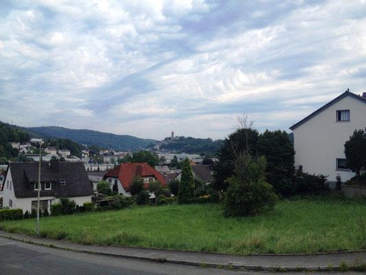 In der Ferne die Dillenburg
