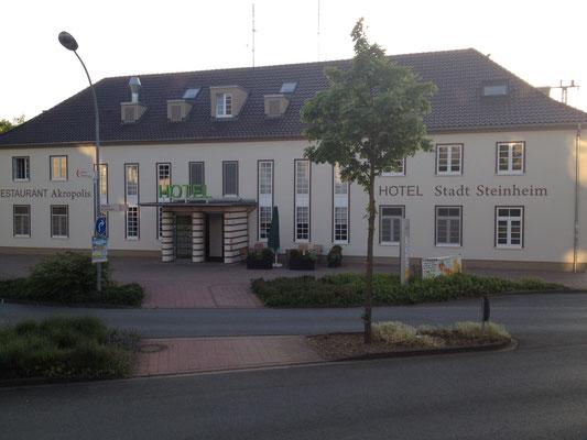 Das Hotel Steinheim am Bahnhof