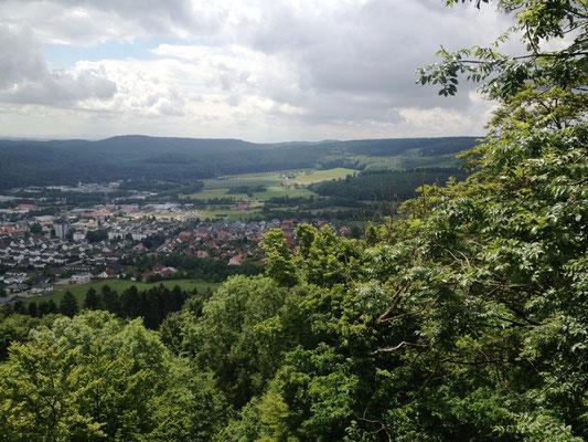Blick vom Kaiser-Karl-Turm
