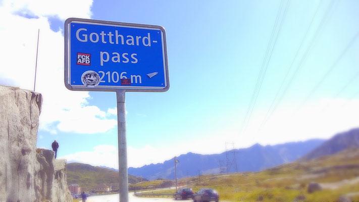 Der Gotthard-Pass