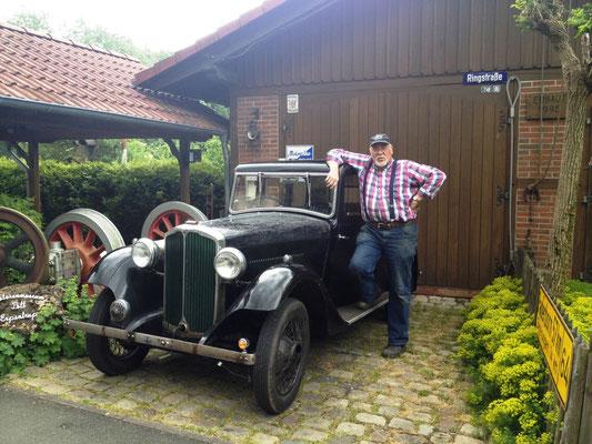 Herr Pott und sein Rover Ten