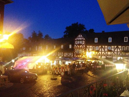 Spätsommerfest auf dem Marktplatz von Braunfels