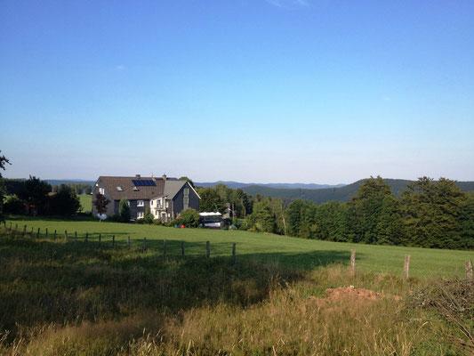 ein Landgasthof (an dem ich vorbeiging...)