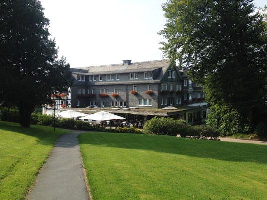 Rothaarsteig: das feine Hotel Jagdhaus