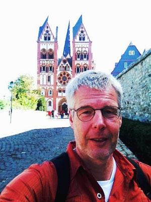 Ein Selfie vor'm Limburger Dom