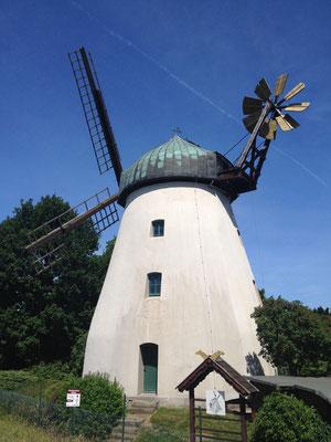 Tündernschen Mühle, wie aus der Welt der blauen Schlümpfe.