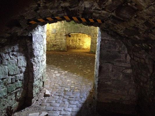 Bad Pyrmont: Gewölbe in der Festung