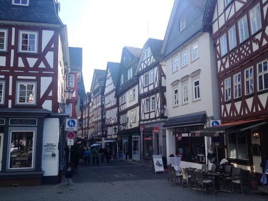 schöne Altstadt von Herborn