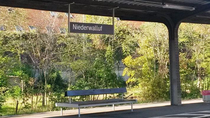 Bahnhof Walluf