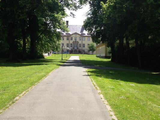 Weg zum Schloss Schieder