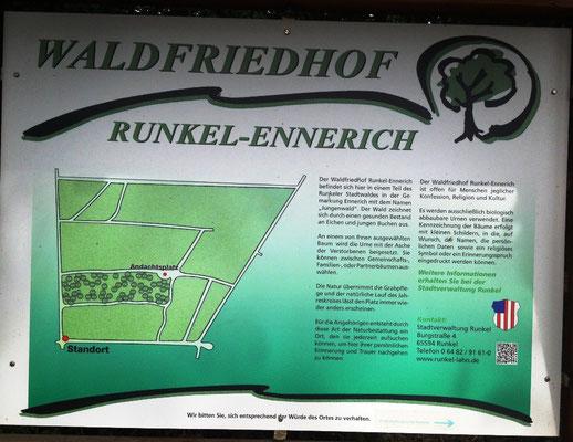 Ein Waldfriedhof bei Runkel