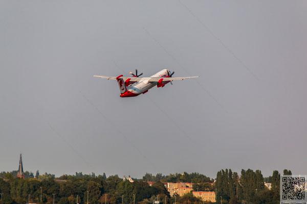 2014-09-04 Berlin - Flughafen Tegel - D-ABQD Bombadier Dash 8Q400 DH8D PS6 2014 037