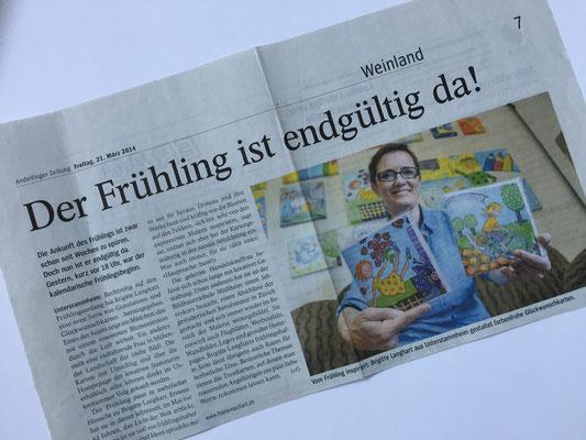 Andelfinger Zeitung - Frühling-Bericht 2014