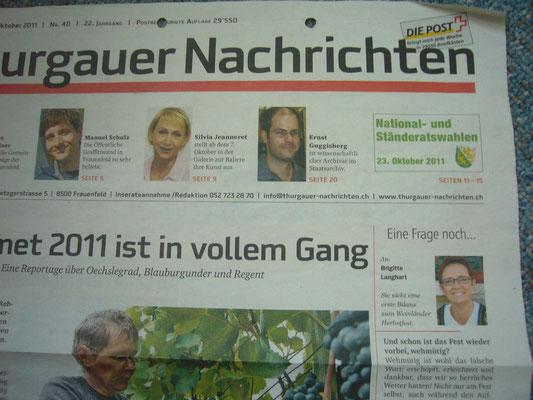 Thurgauer Nachrichten - Berichterstattung