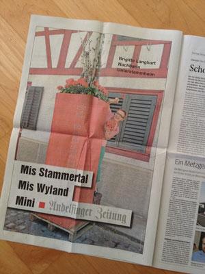 Sommerserie Andelfinger Zeitung 2015