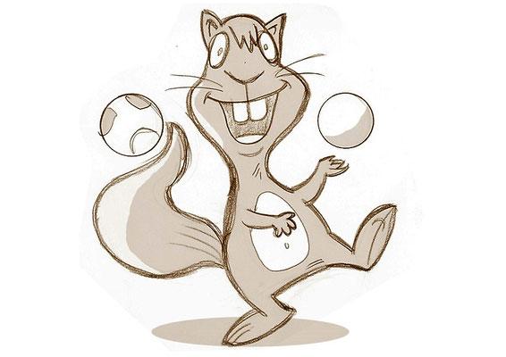 B - Eichhörnchen