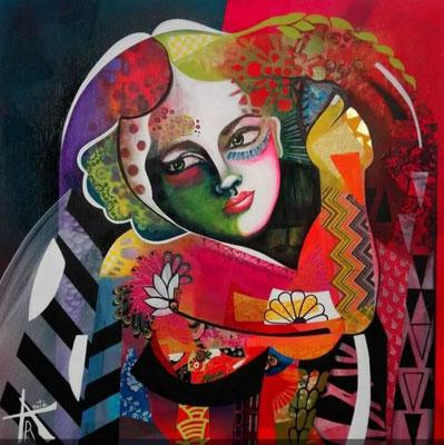 Anita RAUTUREAU - Sous une apparence lumineuse - 50x70cm
