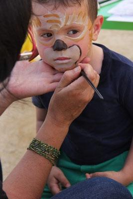 Fiestas talleres maquillaje infantil