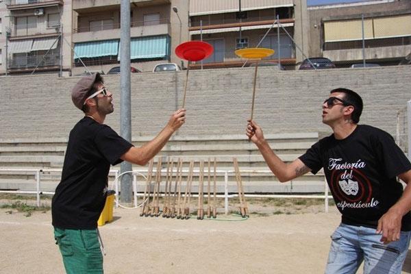Circo malabaristas Barcelona