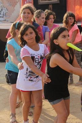 Fiestas infantiles talleres de baile