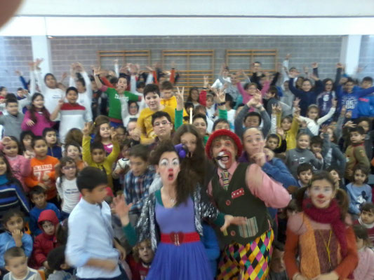 Payasos Payasilandia Lleida Factoría del espectáculo