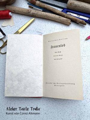 vintage Buch mit neuen Seiten, Notizbuch