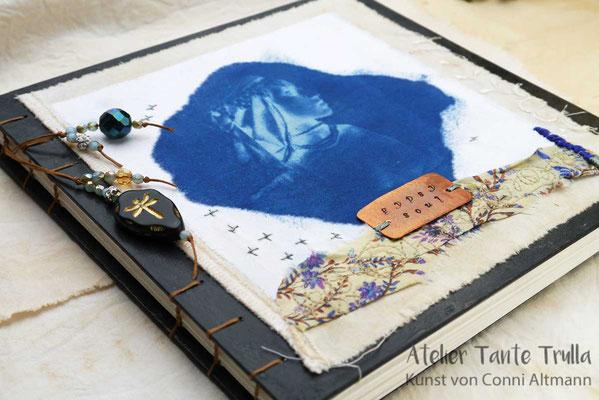cyanoprint on fabric