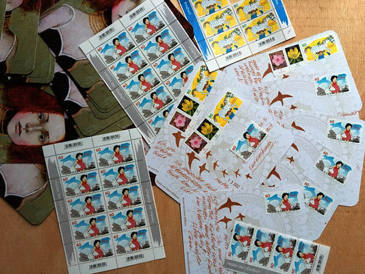 Heidi Briefmarken