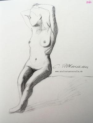 Aktzeichnung 261/365 Conni Altmann