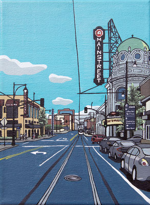 MAIN STREET  By Christina Koski   $480