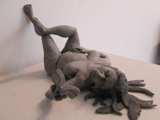 Entirely Engrossed by Rebecca Spilecki Polymer Clay  $3600