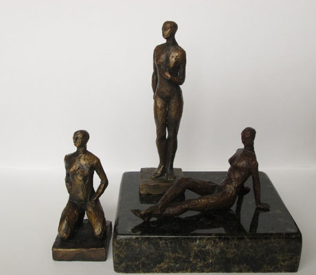 UNTITLED LAURA FREEMAN UNIQUE BRONZE $350 EACH