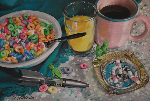 PART OF A WELL BALANCED BREAKFAST  By Natalie Wiseman   $650