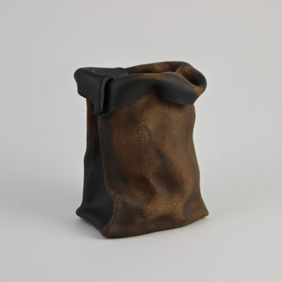 """Schools Serving Students of Color Receive $23 Billion Less Red and Black Clay 4"""" x 3"""" x 2.5"""" Chandra Beadleston $75.00"""