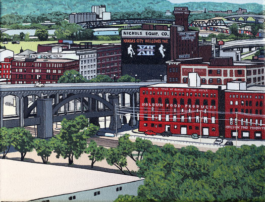 WEST BOTTOMS  By Christina Koski   $480