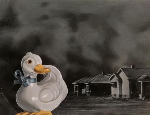 DUCKY II  By Rachel Kalman   $800
