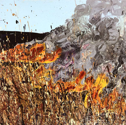 GRASS FIRE  By Charles Baughman  $225