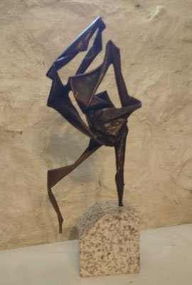 "Ensemble, Bronze 16"" x 9"" x 4""  Maudegrasse  $4550"
