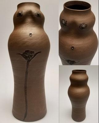 They/Them/Their by Dawn Perrin, Ceramic vase  $235