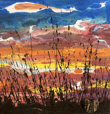 PRAIRIE SILHOUETTE  By Charles Baughman   $150