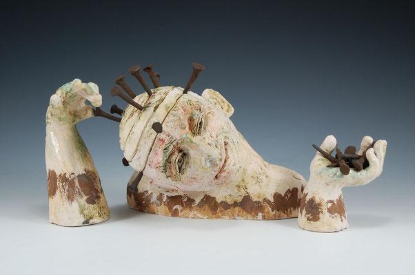 TIMELINE, HELAINE SCHNEIDER (Ceramic) $4000