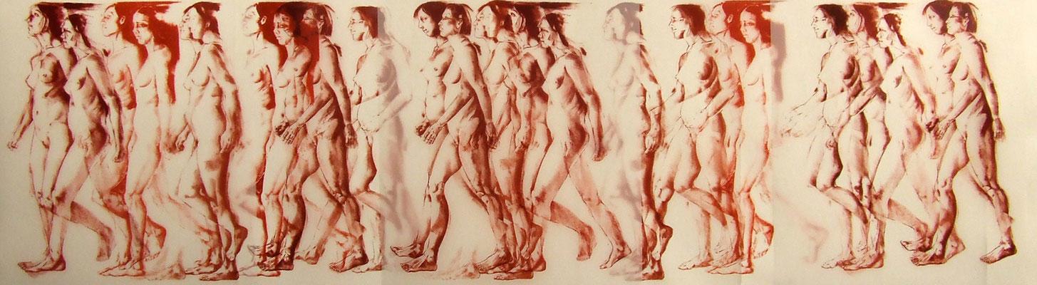 Chant Palen by Robert Creighton, Lithograph on Mylar  $2000