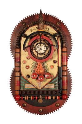 Winning Time, Found object clock  $2225