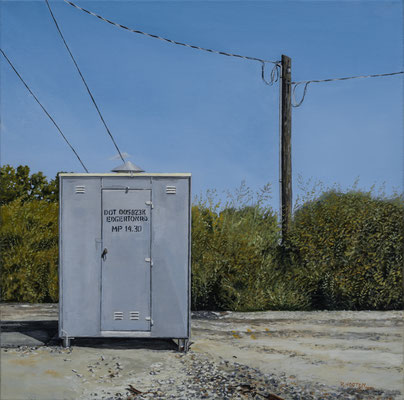 Edgerton Road Crossing Signal Shed     Oil on Canvas     1,200