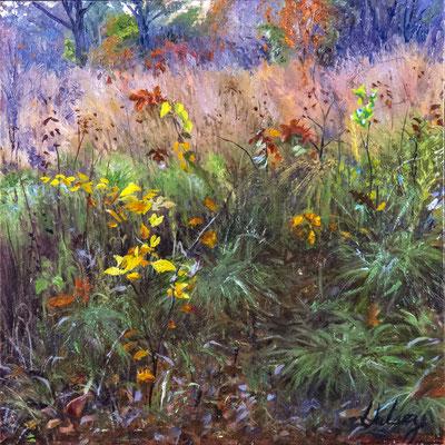 """A Fine Season by John Hulsey   oil on linen 12"""" x 12"""" x  $1500"""