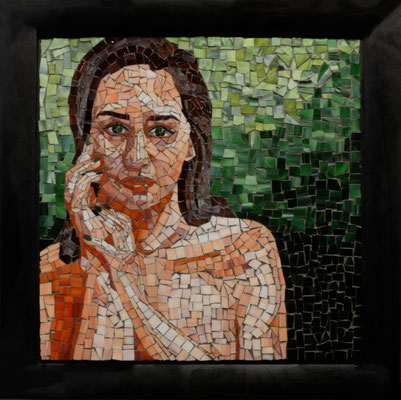 Madison by Chloe Oyler, glass mosiac   1500