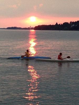 Ferienwohnungen Lindau Insel Kanufahrer Bodensee