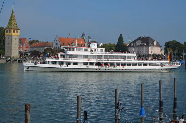 Ferienwohnungen Lindau Insel BSB Dampfer Bodensee